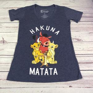 """Womens The lion King tee """"HAKINA MATATA"""""""